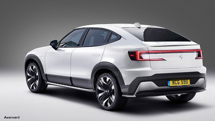 Polestar 3 electric SUV 2022 exclusive images